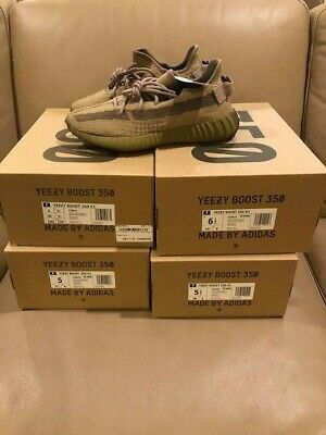 $ CDN536.29 • Buy Adidas Yeezy Boost 350 V2 Earth Size 6, DS BRAND NEW