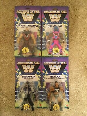 $99.99 • Buy WWE Masters Of The Universe COMPLETE SET WAVE 3 ROCK UNDERTAKER NEW DAY Strowman