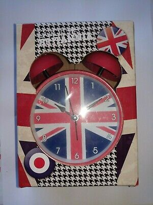 Cool Britannia Union Flag Classic Alarm Clock • 10£