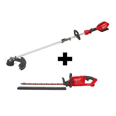 £304.50 • Buy Milwaukee String Hedge Trimmer Combo Kit 18-Volt Lithium-Ion Cordless (2-Tool)