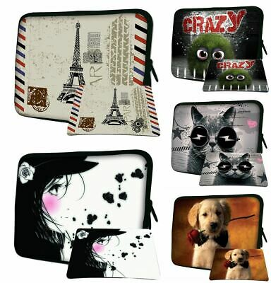 £9.48 • Buy LUXBURG 8 -17.6  Inch Laptop Notebook Sleeve Soft Case Bag Cover + Free Mousepad