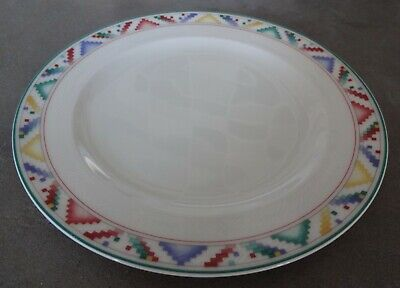 Retired Villeroy & Boch Luxembourg Indian Look Bone China Tea Plate • 14.99£