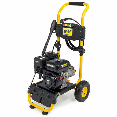 ExDemo Wolf 240 BAR 3500psi 7HP Heavy Duty Petrol Driven Pressure Power Washer • 307.99£