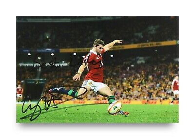 £17.99 • Buy Leigh Halfpenny Signed 6x4 Photo Wales Scarlets Rugby Union Lions Autograph +COA