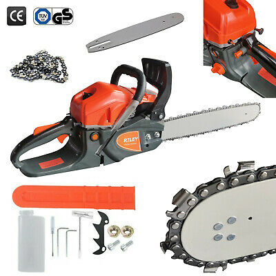 "View Details 20"" Petrol Chainsaw Chain Bar Cover Saw  • 72.99£"