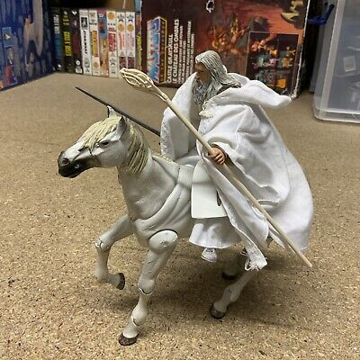 Toy Biz Lord Of The Rings Gandalf & Shadowfax Action Figure Bundle Complete LOTR • 32.99£