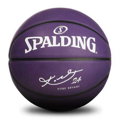 AU39.95 • Buy Kobe Bryant Los Angeles Lakers Spalding NBA Purple Snake Full Size 7 Basketball