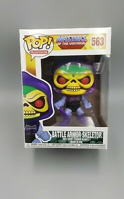 $34 • Buy Funko POP! Masters Of The Universe Battle Armor Skeletor Vinyl Figure 563