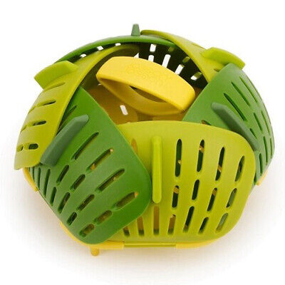 AU18 • Buy NEW Joseph Joseph Bloom Folding Steamer Basket Green