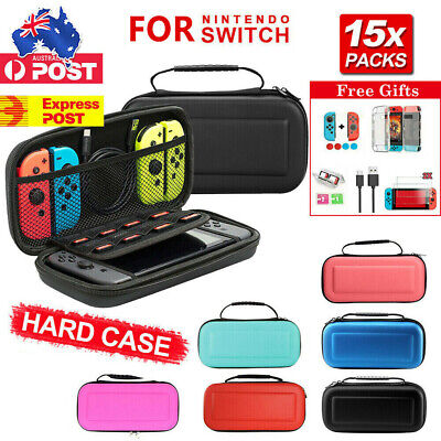 AU20.85 • Buy For Nintendo Switch Travel Carrying Case Bag Screen Protector Cover Accessories