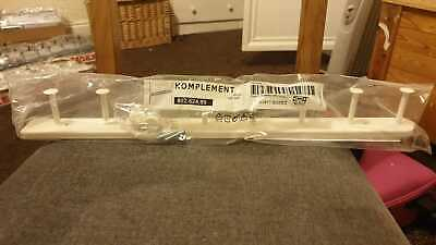 *New* KOMPLEMENT Pull-out Multi-use Hanger, White 58 Cm 802.624.89 *Brand IKEA* • 24.99£