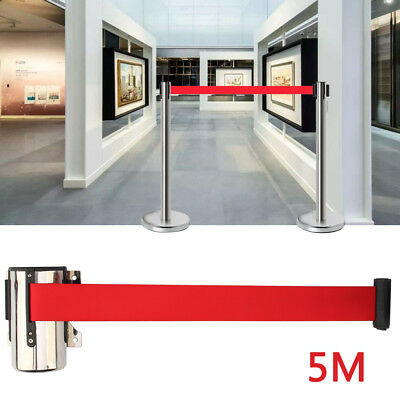 5M Isolated Crowd Order Maintains A Retractable Isolation Belt Queue Barrier • 9.39£