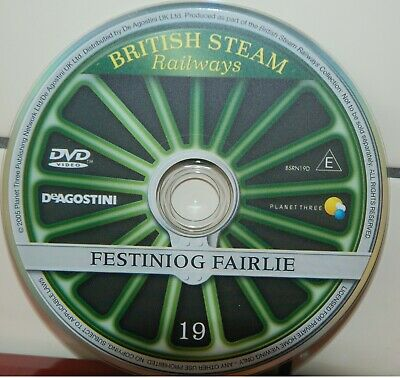 DVD British Steam Railways Vol 19 Festiniog Fairlie • 1.99£