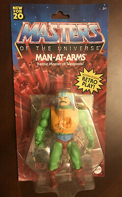 $27.93 • Buy New 2020 Masters Of The Universe Origins Man At Arms Figure Hard To Find!