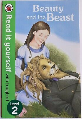 Ladybird Read It Yourself, BEAUTY AND THE BEAST Green Band Level 2 For Beginners • 2.35£