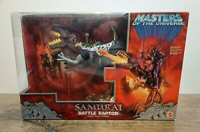 $34.99 • Buy Masters Of The Universe 200x Samurai Battle Raptor MISB New Sealed