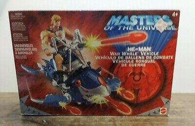 $34.99 • Buy Masters Of The Universe 200x He-Man War Whale Vehicle MISB New Sealed MOTU