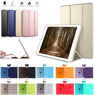 Smart PU Leather Stand Magnetic Case Cover For Apple IPad AIR 1 2 9.7 Air 3 10.5 • 4.49£