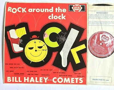 BILL HALEY AND HIS COMETS Rock Around The Clock 1961 Rock & Roll Vinyl LP Mono • 9.99£