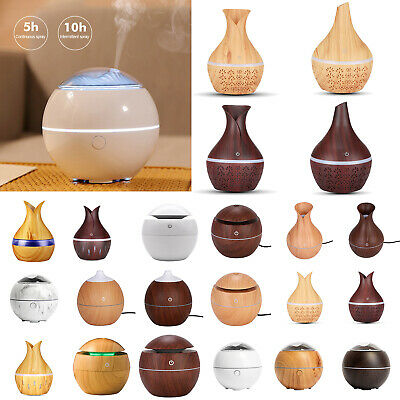 AU11.98 • Buy USB Aroma Essential Oil LED Diffuser Ultrasonic Cool Mist Humidifier Purifier