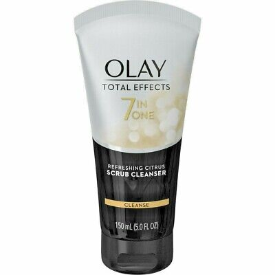 AU12 • Buy Olay TOTAL EFFECT 7 IN ONE REFRESHING CITRUS SCRUB CLEANSER 150 Ml