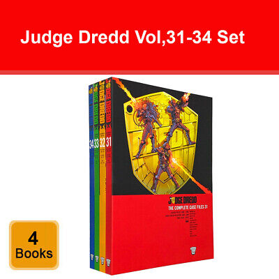 Judge Dredd Complete Case Files Volume 31-34 4 Books Collection Set John Wagner • 39.99£