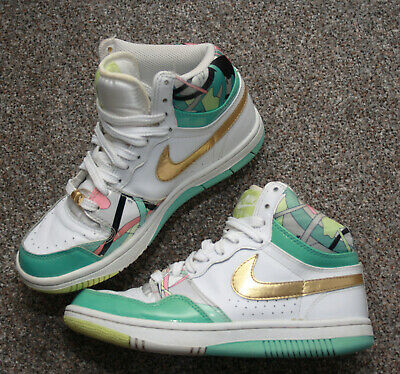 Ladies Nike Court Force High Top Trainers UK 4.5 EUR 37.5 - Emilio Pucci Rare • 54.99£