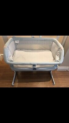 Next2me Crib Dream Chicco Baby Co Sleeping Cot Bedside Next To Me • 69£