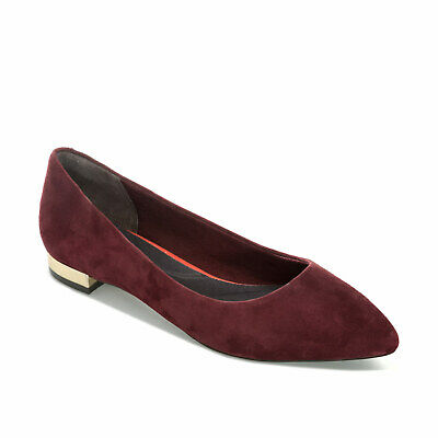 Rockport Womens Total Motion Adelyn Leather Ballet Shoes BX2852 RRP £110 (AS10) • 30£