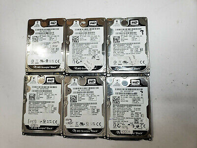 $ CDN82.79 • Buy Lot Of 6 Western Digital 250GB Laptop Hard Drive WD2500BEKT TESTED FAST SHIP OUT