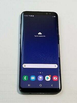 $ CDN201.12 • Buy Samsung Galaxy S8 -G950U- 64GB -Black- GSM Unlocked -ScrnBurn-Sp171