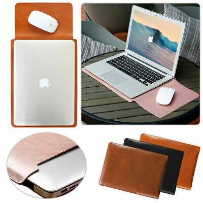 AU24.97 • Buy Universal Slim Leather Laptop Sleeve Case Pouch Bag For 13-inch NoteBook Tablet