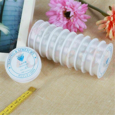 $3.79 • Buy 4 Rolls Elastic Stretchy Beading Thread Cord Bracelet String For Jewelry Making