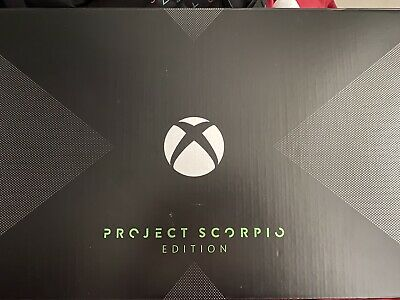 AU500 • Buy Xbox One X 1TB Project Scorpio Edition Console - Black