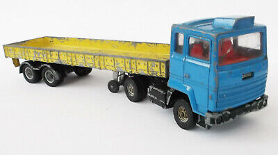 Corgi - Ford Transcontinental Truck W Flat Container Trailer • 11.99£