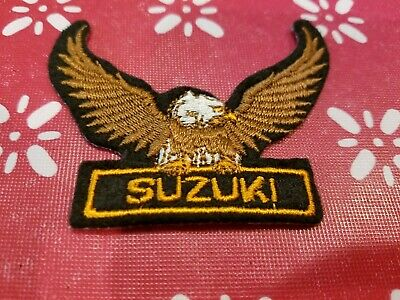 $5.99 • Buy Suzuki Motorcycles Eagle Embroidered Patch