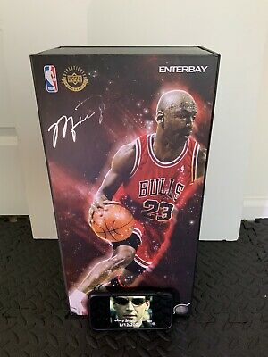$599 • Buy Enterbay Michael Jordan Figure Series 1 Legend Real Masterpiece Rare RM-1042