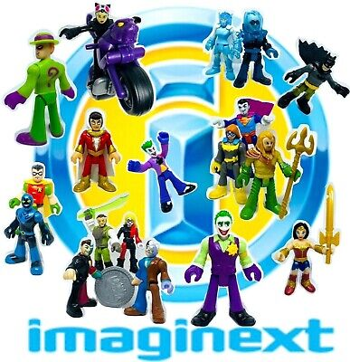 IMAGINEXT Figures Super Hero Friends & Villains Used Loose *Please Select* • 6.99£