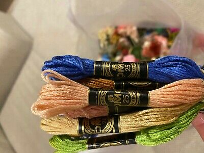 AU6.50 • Buy 5 X BRAND NEW GENUINE DMC Stranded Cotton Thread - 1000's Of Colour Choices
