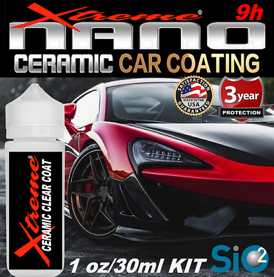 $21.95 • Buy Ceramic Car Coating Nano 9h Pro Grade Paint Sealant Kit Polish Gloss Wetlook