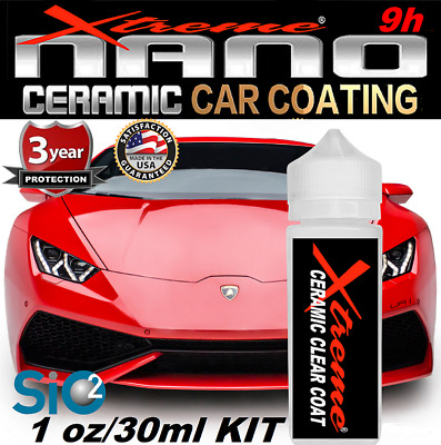 $21.95 • Buy Pro Grade Nano Ceramic Car Coating Xtreme Nano 9h Wet Look Gloss Protection Kit