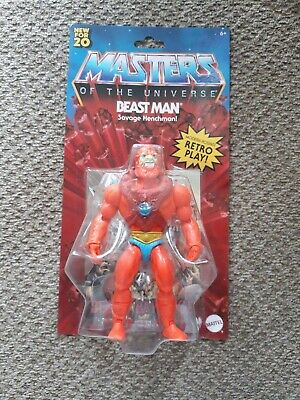 $24.98 • Buy 💥MASTERS OF THE UNIVERSE 2020 BEAST MAN Action Figure, NEW!💥