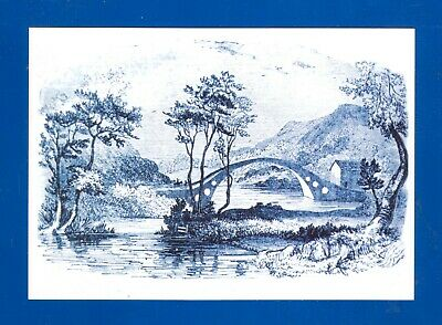 4 Postcards The Old Bridge Pontypridd Mid-Glamorgan  New • 2£