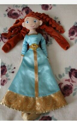 Disney Store Princess Soft Doll Merida,  Soft Plush • 8.99£