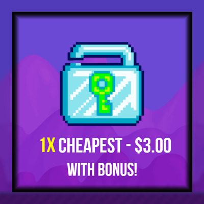 $ CDN3.94 • Buy (CHEAPEST) Diamond Lock 1x- Fast Delivery (30Mins-8 Hours) GUARANTEED! Growtopia