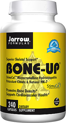 £19.16 • Buy Jarrow Formulas Bone-up, Promotes Bone Density, 240 Capsules