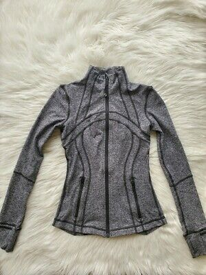 $ CDN37 • Buy Lululemon Define Jacket, Gray/Heathered Black, Size 4