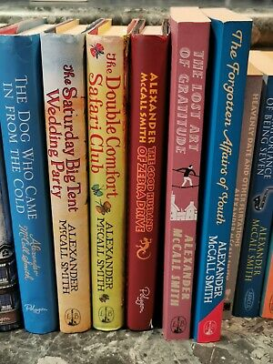AU89 • Buy Alexander McCall Smith Lot Of 12 Hardcover And Paperback Books