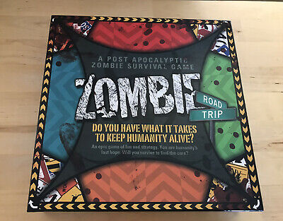 Zombie Road Trip Board Game.100% Complete Unplayed • 15£