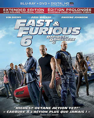 $ CDN1.99 • Buy Fast & Furious 6 Extended Edition Blu-ray Only!!! No Dvd Or Digital